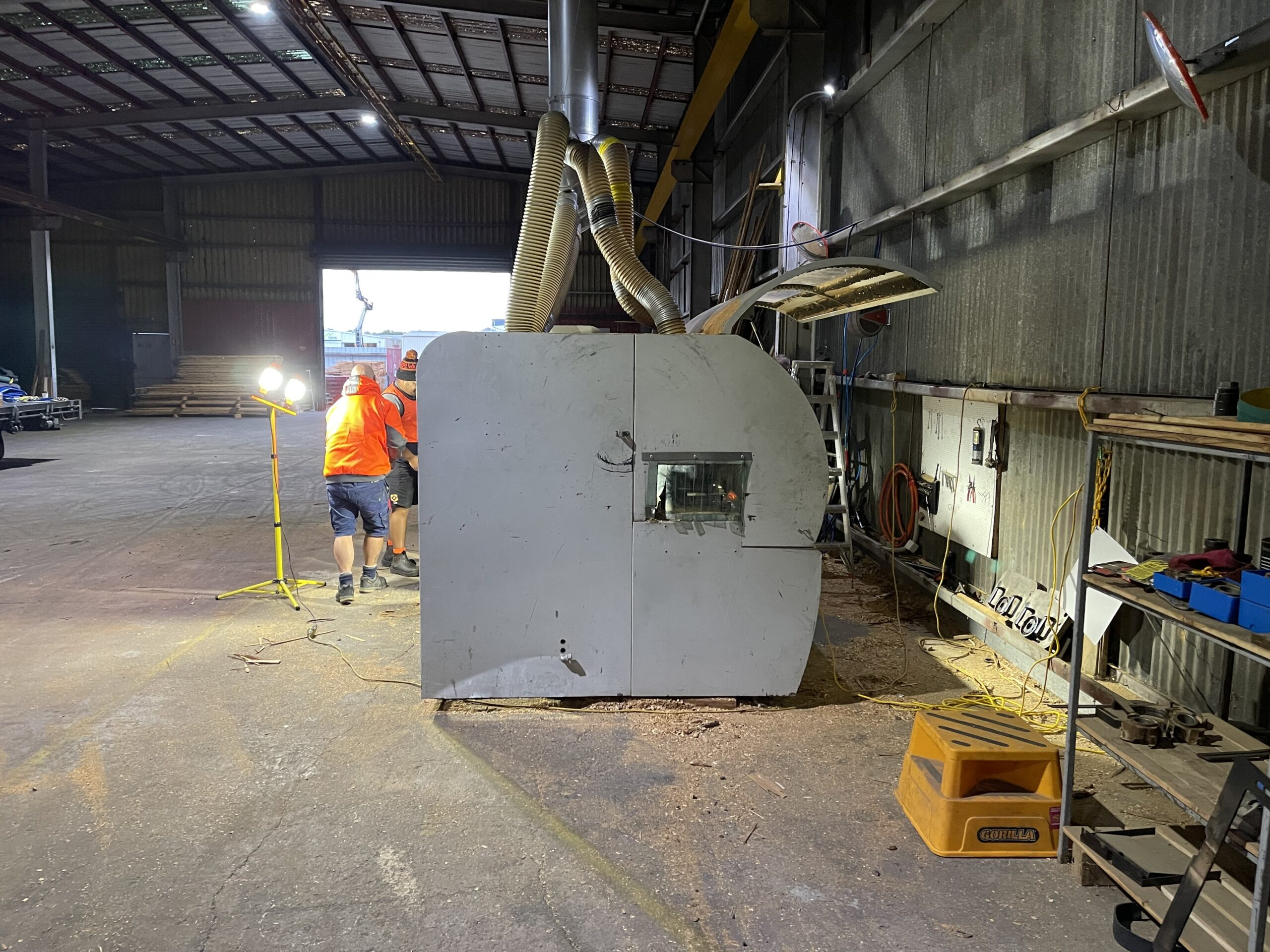 Exisiting Moulder Removal